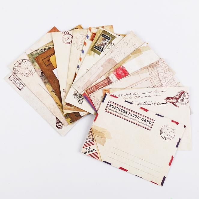 Designful vintage envelop